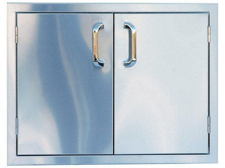 Outdoor Greatroom 27'' Stainless Steel Vertical Double Access Door