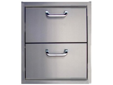 Outdoor Greatroom Stainless Steel (2) Drawer Storage PatioLiving