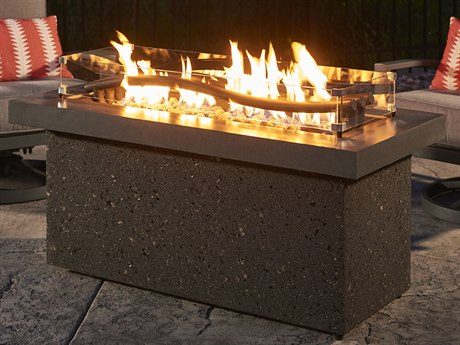 Outdoor GreatRoom Boreal Linear Gas Fire Pit Table