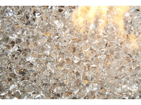 Outdoor GreatRoom Small Diamond Glass Gems