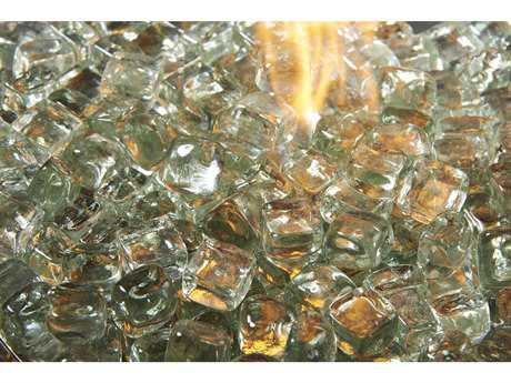 Outdoor GreatRoom Ice Crystal Fire Gems