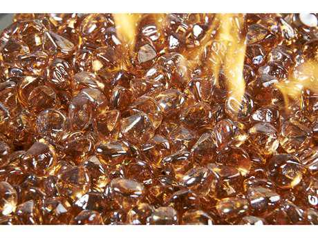 Outdoor GreatRoom Large Copper Glass Gems