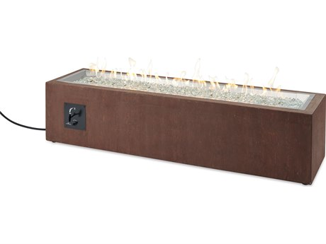 Outdoor Greatroom Cortlin Linear Gas Fire Pit Table