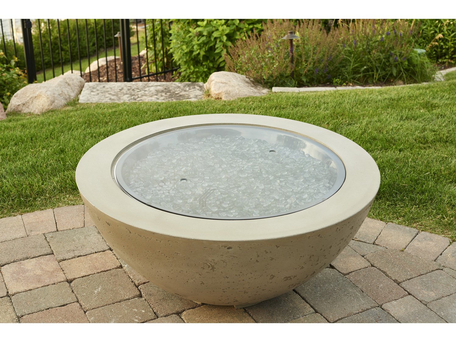 Outdoor Greatroom 42'' Round Cove Fire Pit Table | CV-30