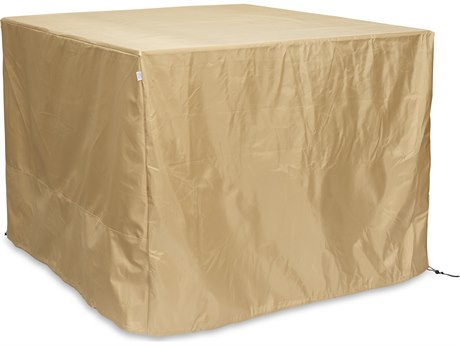 Outdoor GreatRoom Square Tan Protective Cover (40'' W X 40'' D X 41'' H)