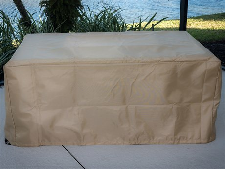 Outdoor GreatRoom Rectangular Tan Protective Cover (52'' W X 32.83'' D X 22.4'' H)