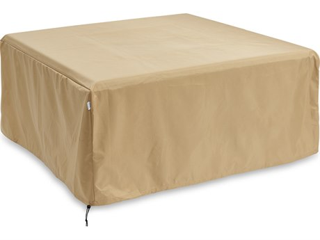 Outdoor GreatRoom Square Tan Protective Cover (52'' W X 52'' D X 22'' H)