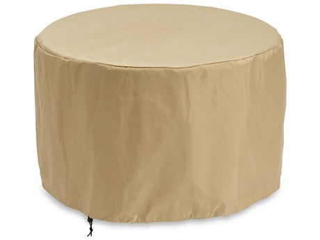 Outdoor GreatRoom Round Tan Protective Cover (55'' W X 55'' D X 18'' H)