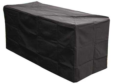 Outdoor GreatRoom Rectangular Vinyl Cover for Key Largo Fire Pit Table
