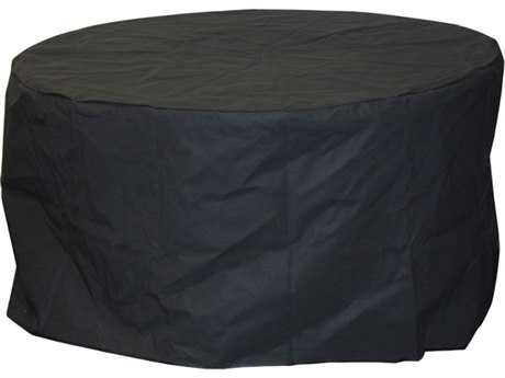 Outdoor GreatRoom Chat 42 Round Vinyl Cover for Table Stonefire or Nightfire Crystal Fire Pit Table