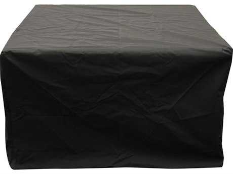 Outdoor GreatRoom Square Vinyl Cover for Napa Valley or Rivers Edge Crystal Fire Pit Tables