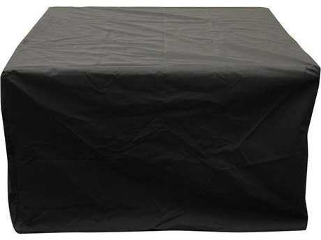 Outdoor GreatRoom Rectangular Vinyl Cover for Montego Crystal Fire Pit Table