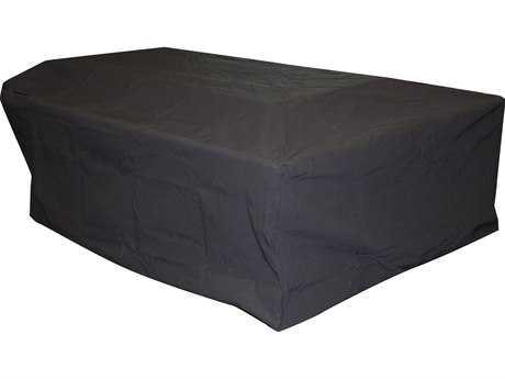 Outdoor GreatRoom Rectangular Vinyl Cover for Uptown Fire Pit