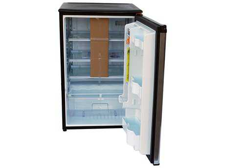Outdoor GreatRoom Danby Stainless Steel Refrigerator with Glass Shelves