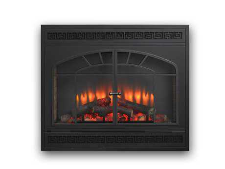 Outdoor GreatRoom 34 Gallery Electric LED Built-In Fireplace
