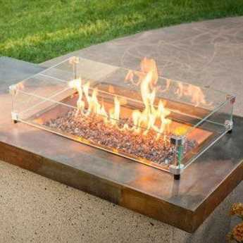 Outdoor GreatRoom Glass Guard for 24 x 12 Burner