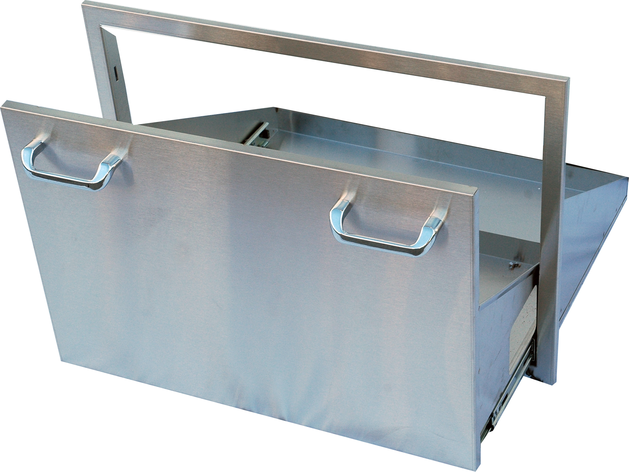 Outdoor GreatRoom Stainless Steel Ice Chest Drawer