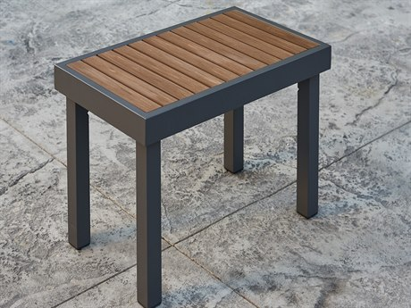 Outdoor Greatroom Kenwood Aluminum Short Bench