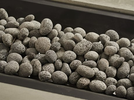Outdoor GreatRoom Grey Tumbled Lava Rock 3/4'' - 1 1/2'' Size (6lb Bag)