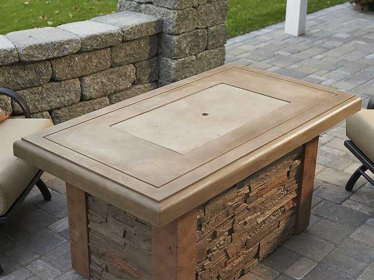 Outdoor Greatroom Sierra Linear Fire Table