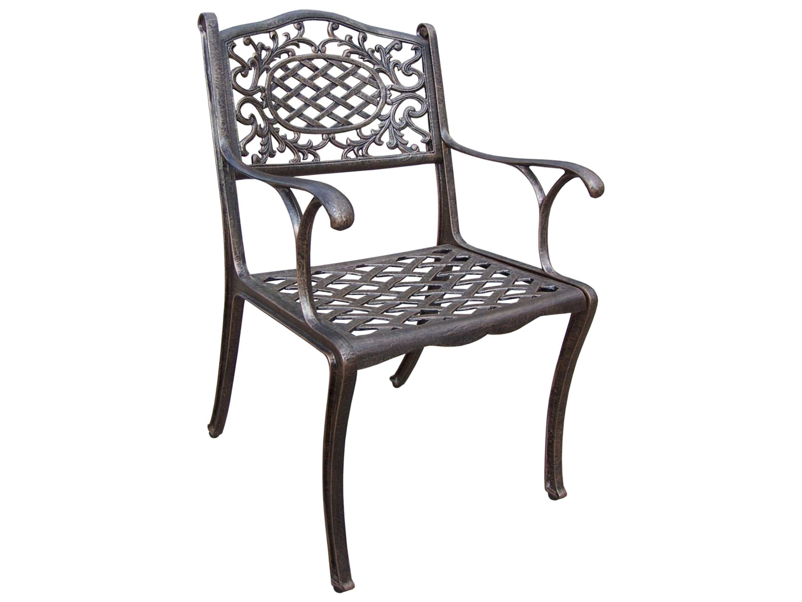 Oakland Living Mississippi Cast Aluminum Arm Chair 2012 Ab