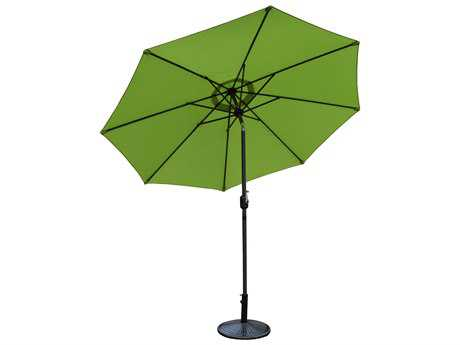 Oakland Living Alluminum 9 ft. Metal Framed Umbrella