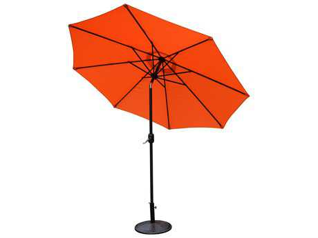 Oakland Living Aluminum 9 ft. Metal Framed Umbrella
