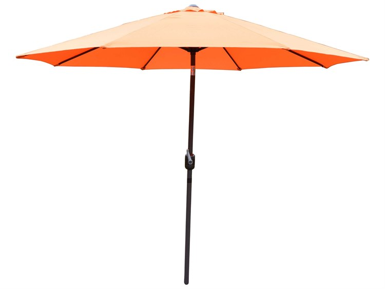 Oakland Living Aluminum 9 ft. Metal Framed Umbrella PatioLiving