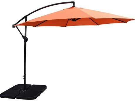 Oakland Living Aluminum 10 ft Cantilever Umbrella PatioLiving