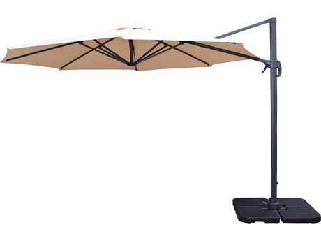 Oakland Living 11ft Cantilever Umbrella w-360 Degree revert and crank
