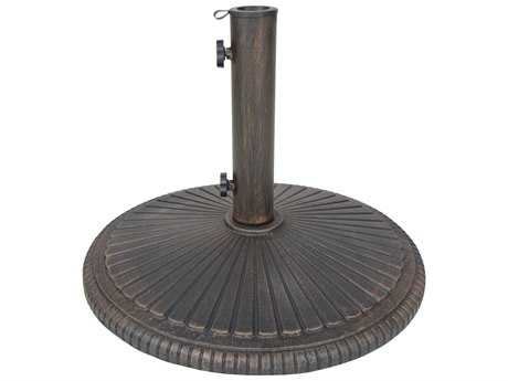 Oakland Living Heavy Duty Cast Iron Multiuse Garden Décor or Umbrella Stand