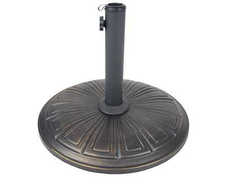 Oakland Living Cast Stone Multiuse Garden Décor or Umbrella Stand