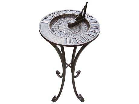 Oakland Living Sunflower Cast Aluminum Sundial