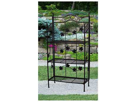 Oakland Living Wrought Iron Sun Wave Baker Rack