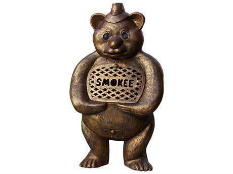 Oakland Living Smokee Bear Cast Aluminum Chimenea Sculpture