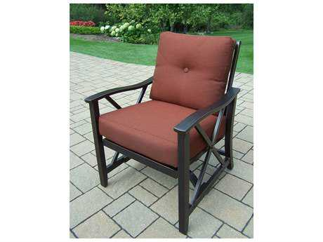 Oakland Living Pair of Haywood Aluminum Deep Seat Rocking Chairs