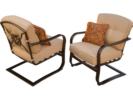 Oakland Living Heritage Aluminum air of Heritage Deep Seating Spring Chairs