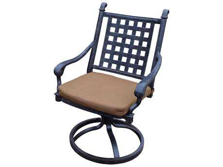 Oakland Living Belmont Aluminum Swivel Rocker