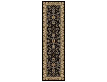 Orian Rugs American Heirloom Borokan Rectangular Onyx Runner Rug