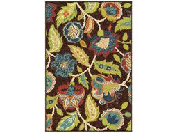 Orian Rugs Veranda Ethridge Rectangular Brown  Area Rug