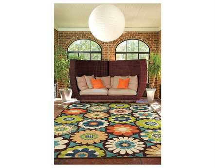 Orian Rugs Veranda Vissage Rectangular Gemstone Area Rug