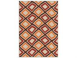Orian Rugs Veranda Broad Street Brown Rectangular Area Rug