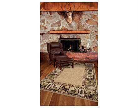 Orian Rugs Oxford High Country Rectangular Praline Area Rug