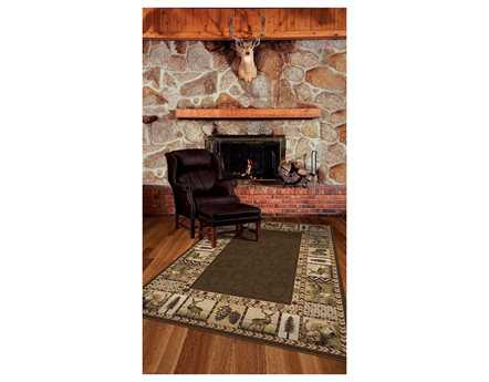 Orian Rugs Oxford High Country Rectangular Sienna Area Rug