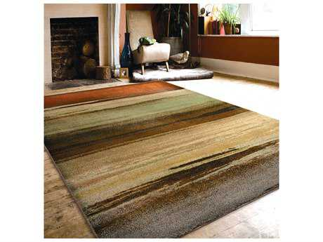 Orian Rugs Radiance Rectangular Washout Green Area Rug