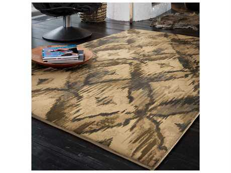 Orian Rugs American Heirloom Havana Beige Rectangular Area Rug