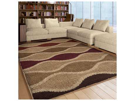 Orian Rugs Impressions Shag Waves Making Waves Rectangular Area Rug
