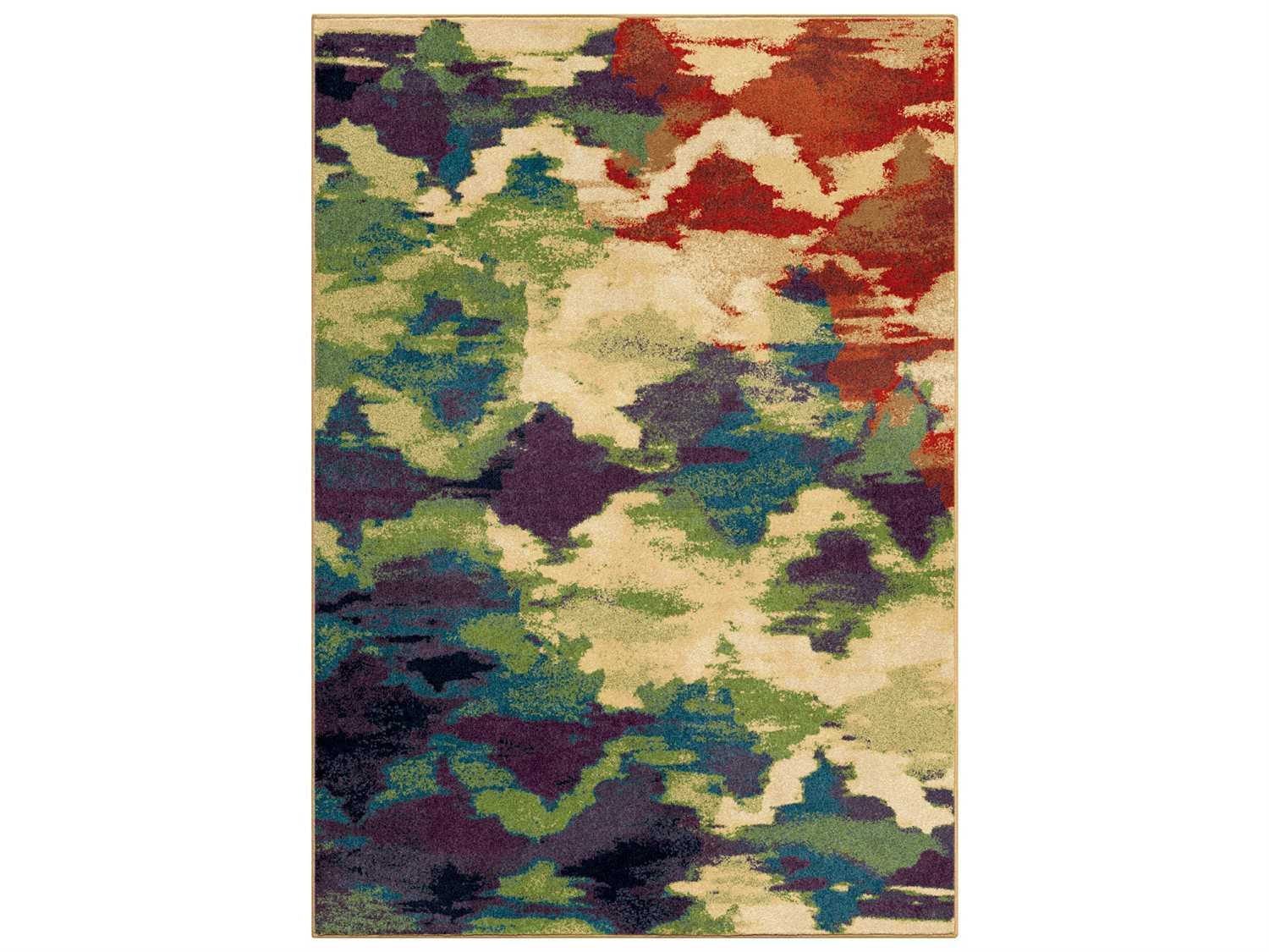 Watercolor Area Rug Home Decorators Collection
