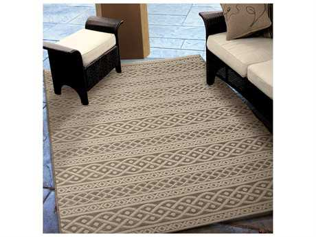 Orian Rugs Jersey Home Cable Tan Rectangular Area Rug