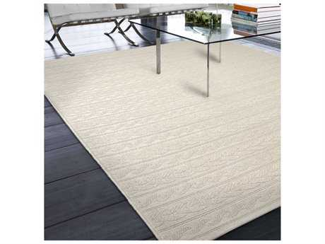 Orian Rugs Jersey Home Cableknots Ivory Rectangular Area Rug